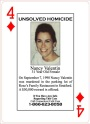 4 of Diamonds–Nancy Valentin Murdered in Connecticut in 1990