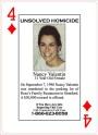 4 of Diamonds–Nancy Valentin Murdered in Connecticut in1990